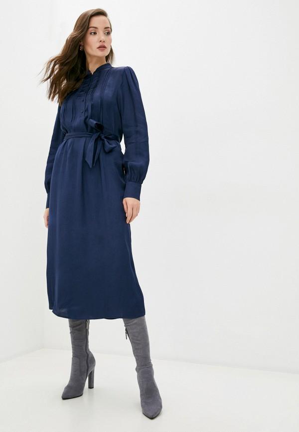 женское платье manila grace, синее