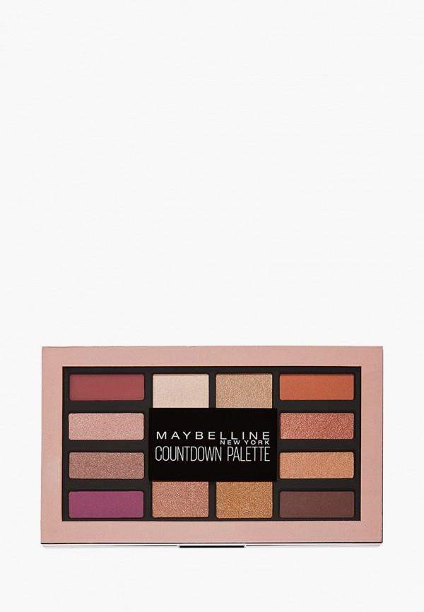 тени для век maybelline new york, разноцветный