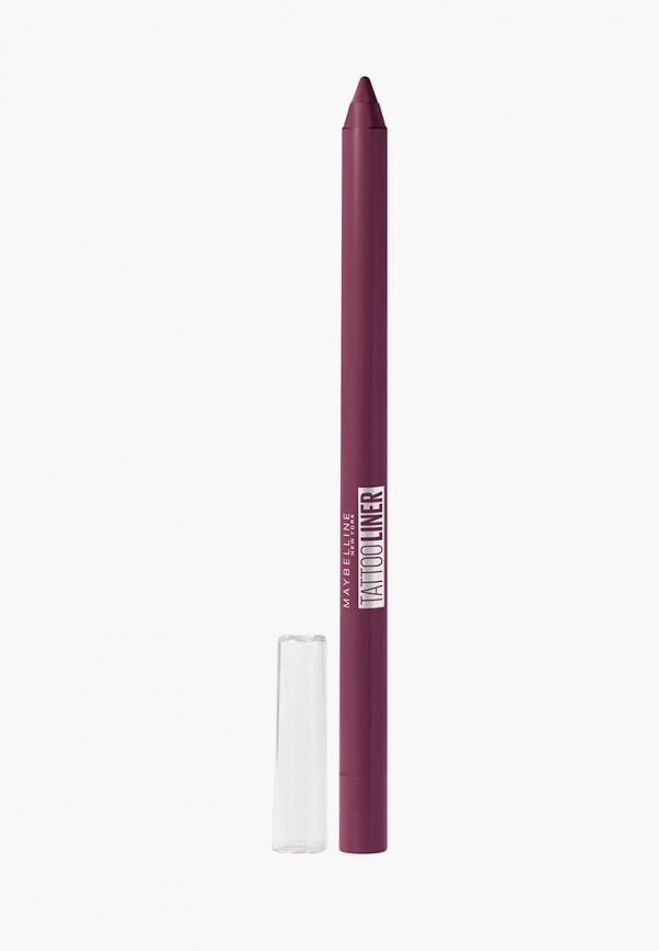 карандаш для глаз maybelline new york, розовый
