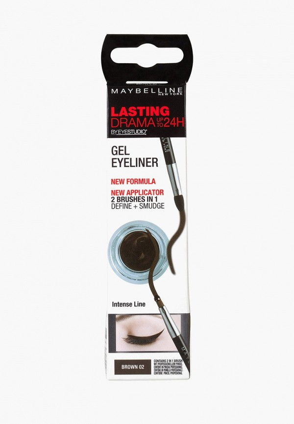 Подводка для глаз Maybelline New York Maybelline New York MA010LWFJT06 карандаш для глаз maybelline new york maybelline new york ma010lwjla12