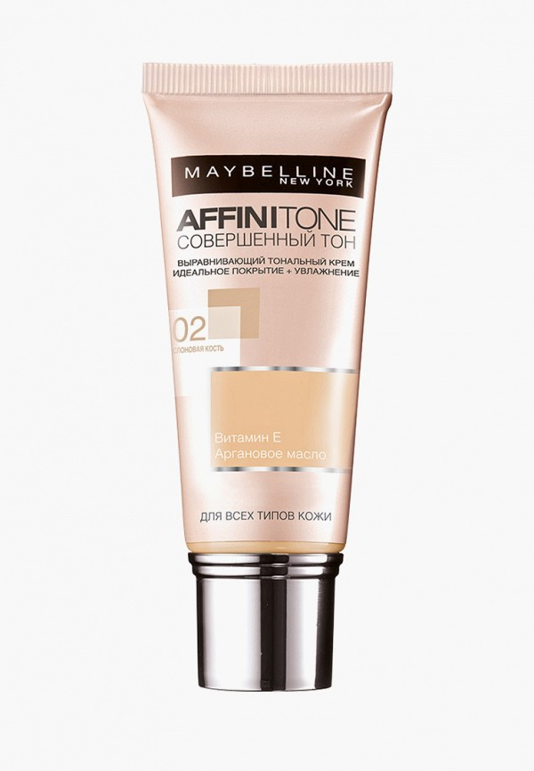 Тональный крем Maybelline New York Maybelline New York MA010LWFJT26 maybelline new york affinitone оттенок 42 темно бежевый 9 г