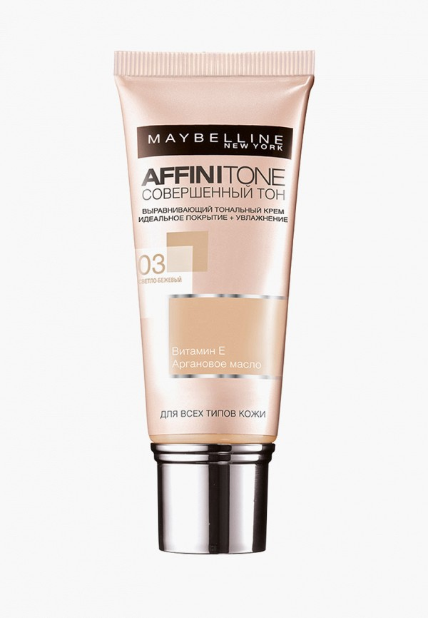 Тональный крем Maybelline New York Maybelline New York MA010LWFJT27 maybelline new york affinitone оттенок 42 темно бежевый 9 г