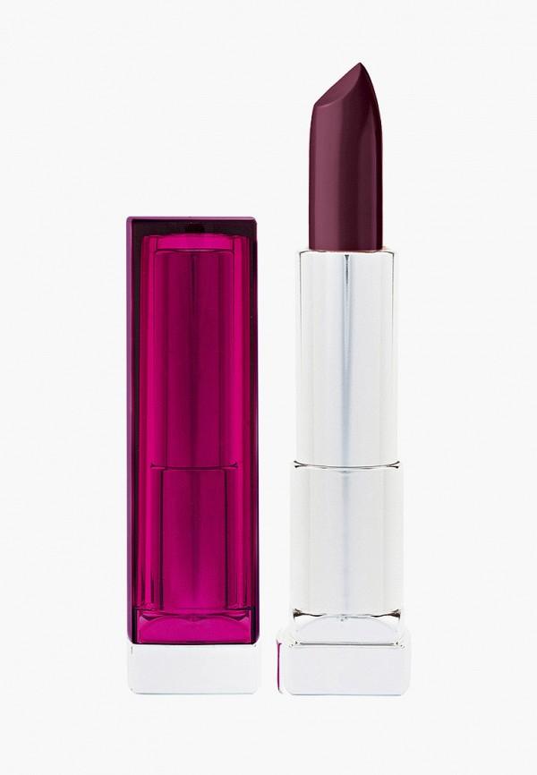 женская помада maybelline new york, фиолетовая