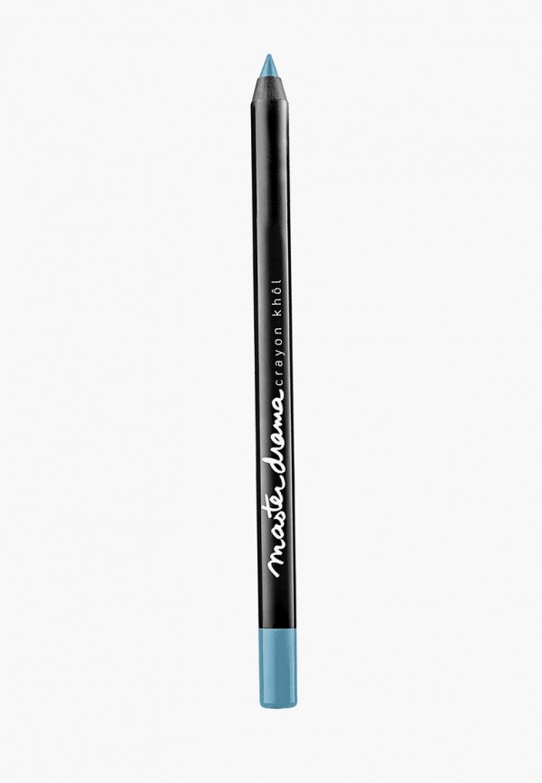 карандаш для глаз maybelline new york, голубой