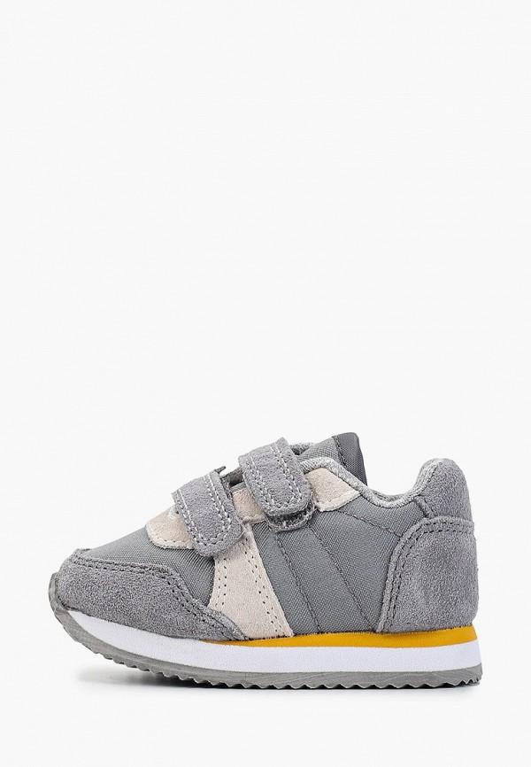 кроссовки mango kids для мальчика, серые