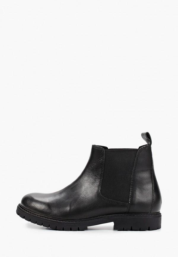 ботинки mango kids для мальчика, черные