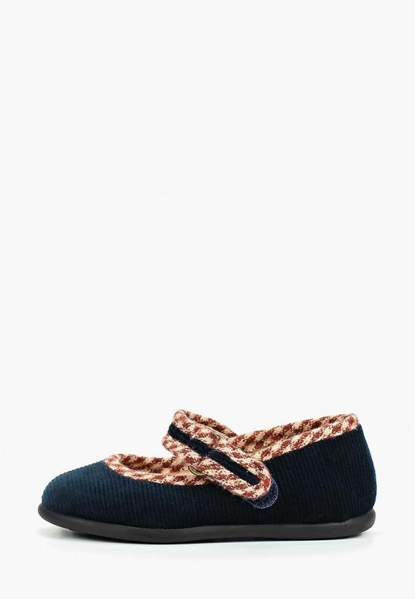 туфли mango kids для девочки, синие
