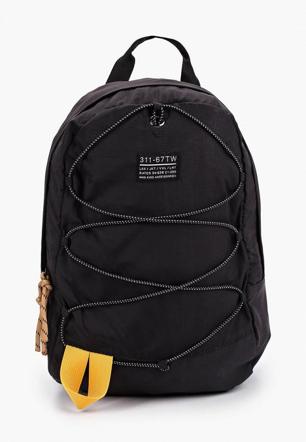 рюкзак mango kids для мальчика, черный