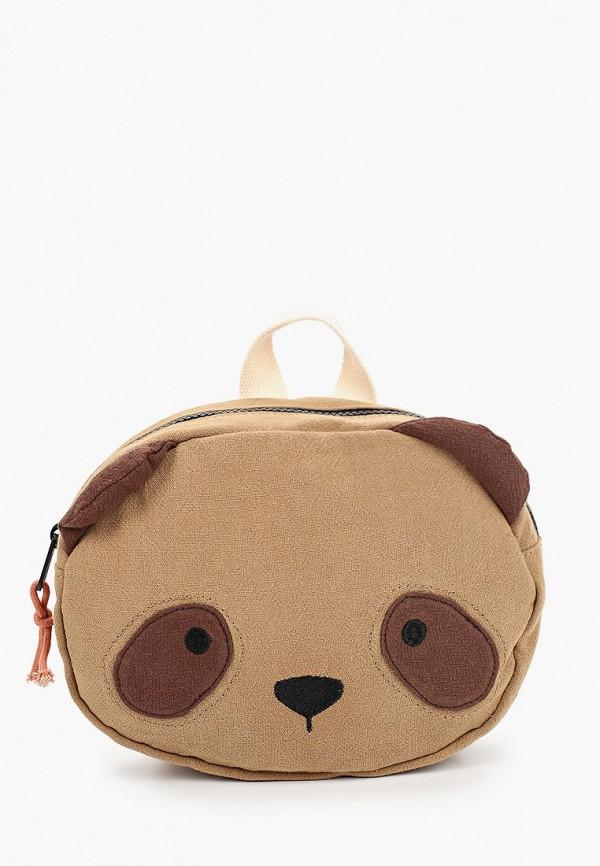 рюкзак mango kids для мальчика, коричневый
