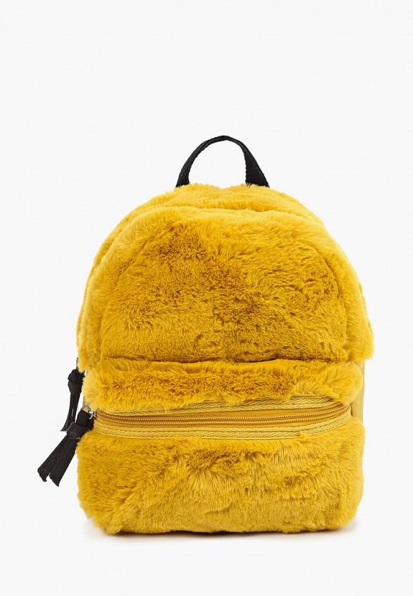 рюкзак mango kids для девочки, желтый