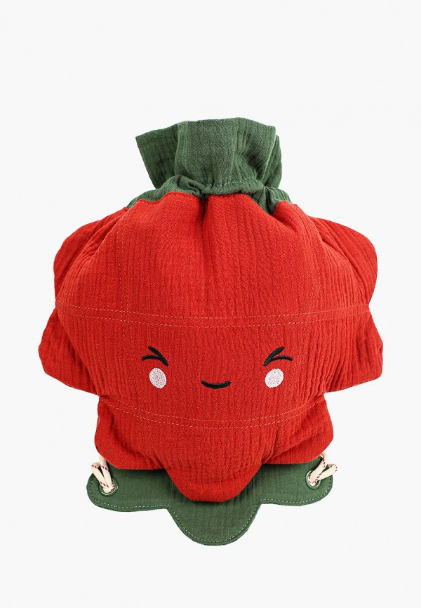 рюкзак mango kids для девочки, красный