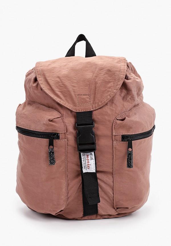 рюкзак mango kids для девочки, розовый