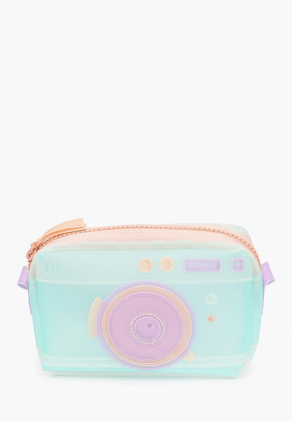 сумка mango kids для девочки, бирюзовая