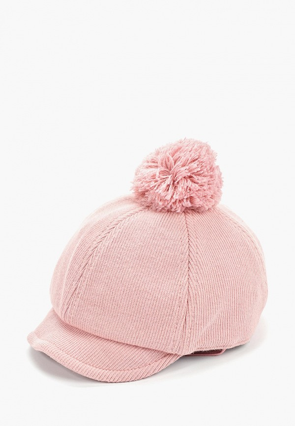 кепка mango kids для девочки, розовая