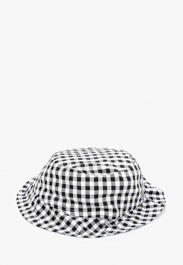 шляпа mango kids для девочки, черная