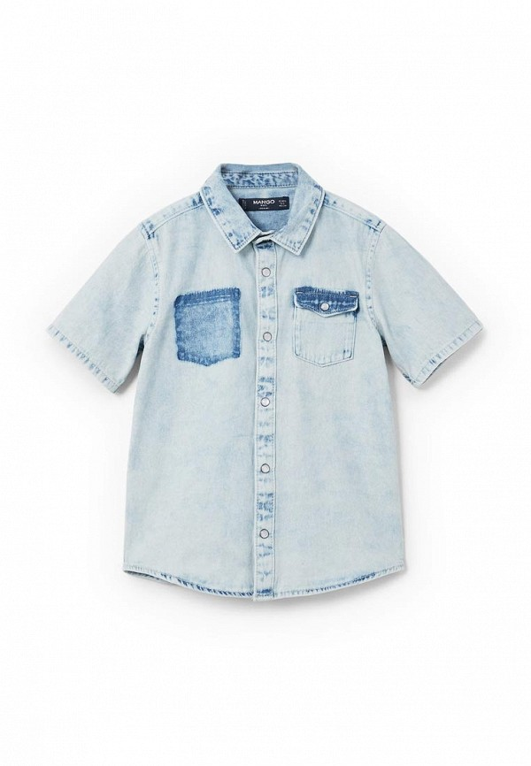 Рубашка джинсовая Mango Kids Mango Kids MA018EBAFHV0 рубашка mango kids mango kids ma018ebbkdg0