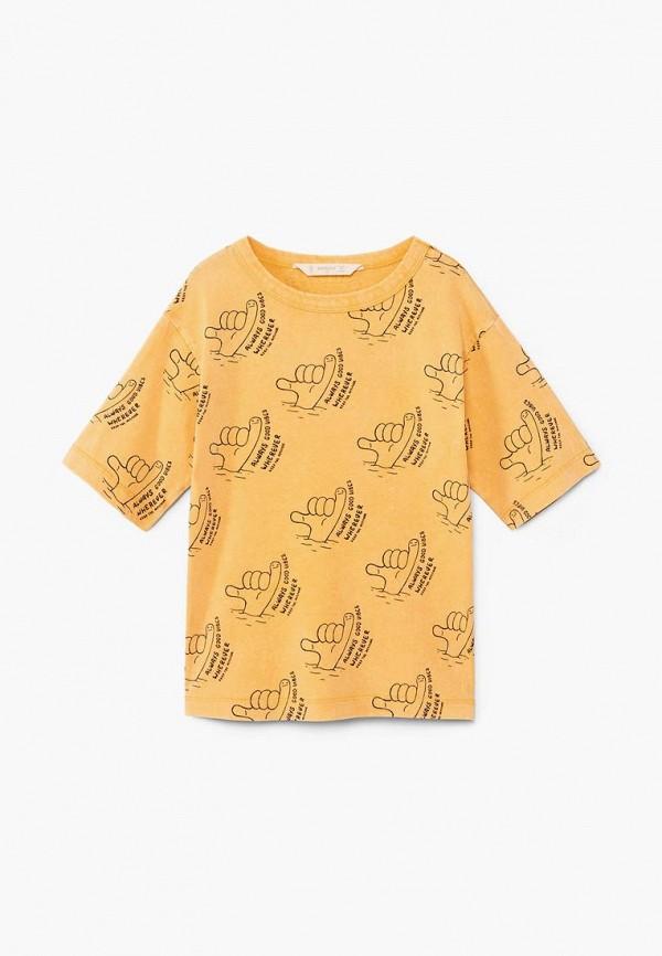 Футболка Mango Kids Mango Kids MA018EBBVKI9 футболка mango kids mango kids ma018egbybe1