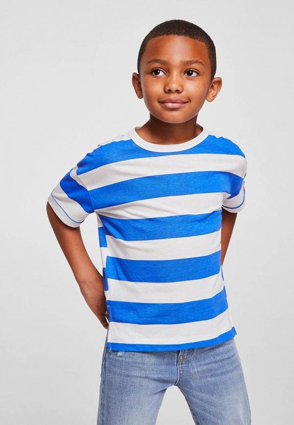Футболка для мальчика Mango Kids 33090452 Фото 3