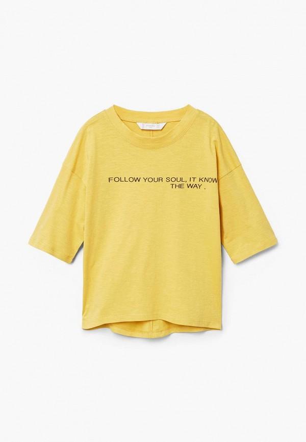 Футболка Mango Kids Mango Kids MA018EBCBUW1 футболка mango kids mango kids ma018ebcaqg5