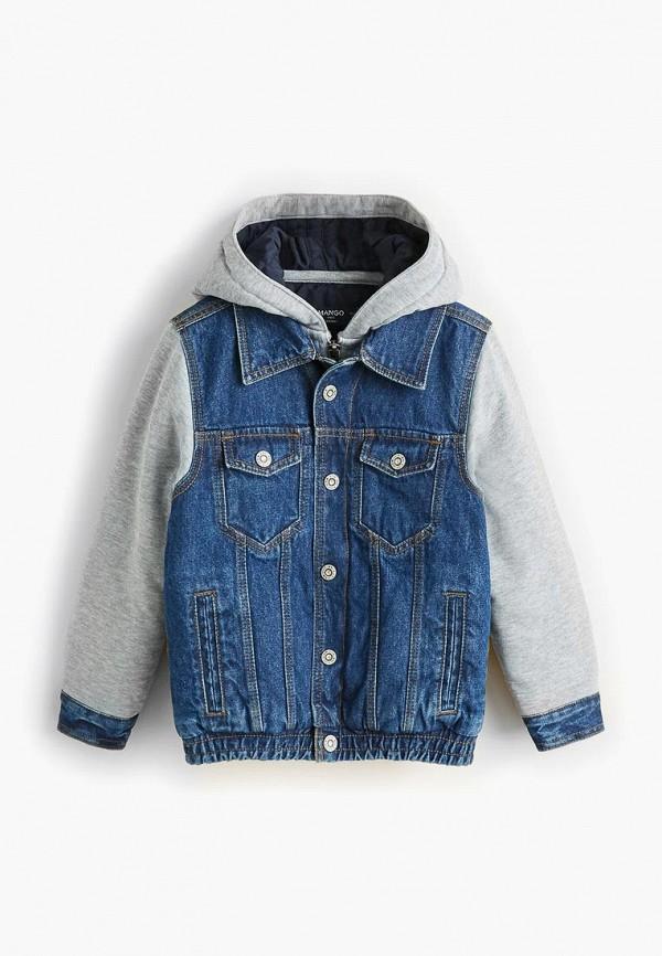Куртка джинсовая Mango Kids Mango Kids MA018EBCQQZ1 куртка кожаная mango kids mango kids ma018egaqvn4