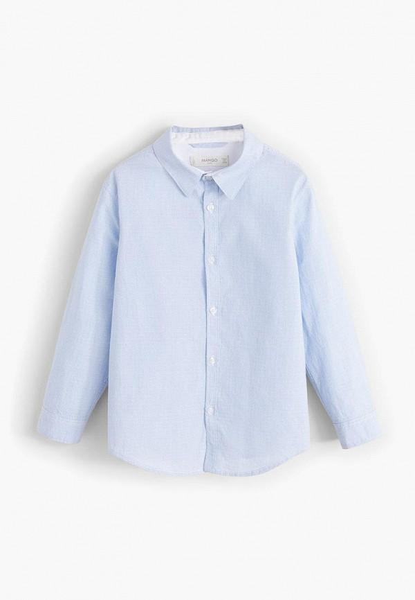 Рубашка Mango Kids Mango Kids MA018EBDKGC4 рубашка джинсовая mango kids mango kids ma018egbybh9