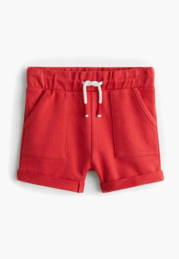 шорты mango kids для мальчика, красные