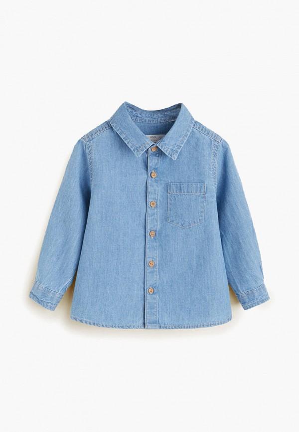 Рубашка джинсовая Mango Kids Mango Kids MA018EBFTAX3 куртка джинсовая mango kids mango kids ma018ebiiqx2