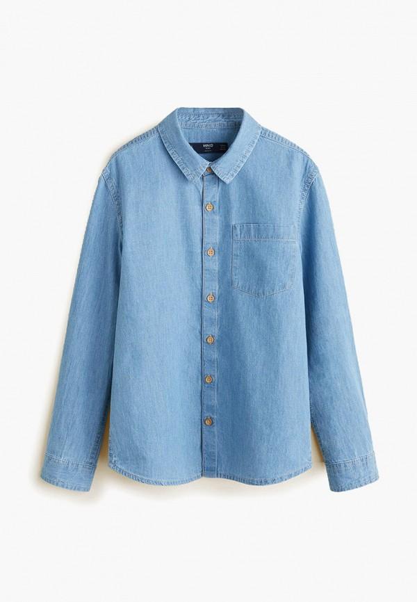 Рубашка джинсовая Mango Kids