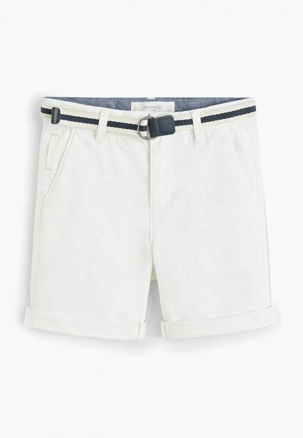 шорты mango kids для мальчика, белые