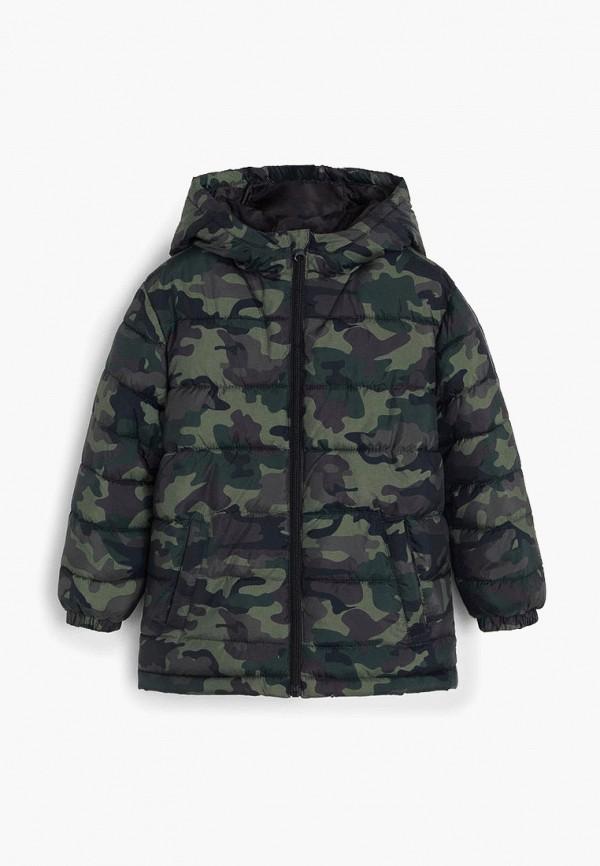 куртка mango kids для мальчика, хаки