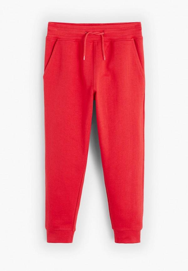 спортивные спортивные брюки mango kids для мальчика, красные