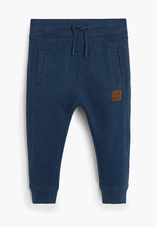 спортивные спортивные брюки mango kids для мальчика, синие