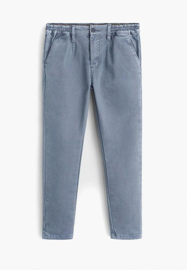 брюки mango kids для мальчика, голубые
