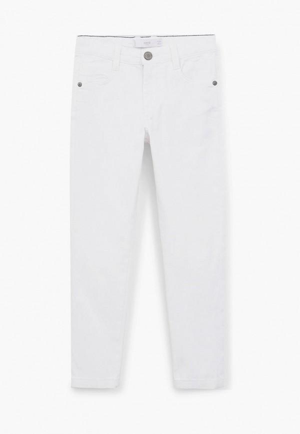 брюки mango kids для мальчика, белые