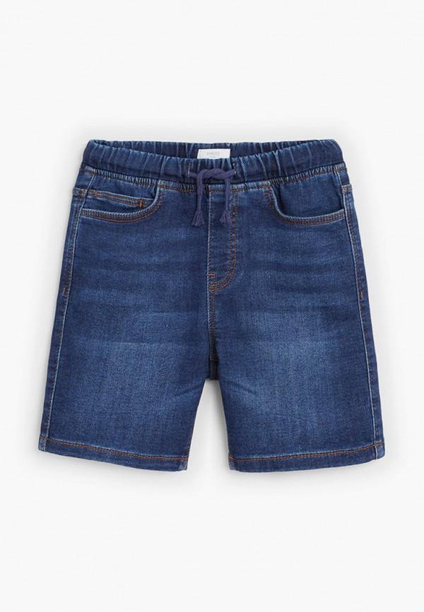шорты mango kids для мальчика, синие