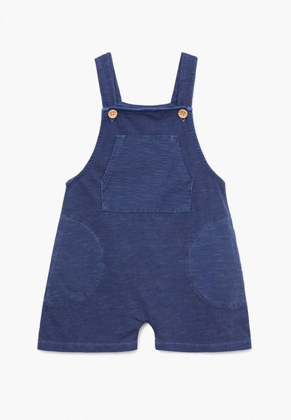 комбинезон mango kids для мальчика, синий