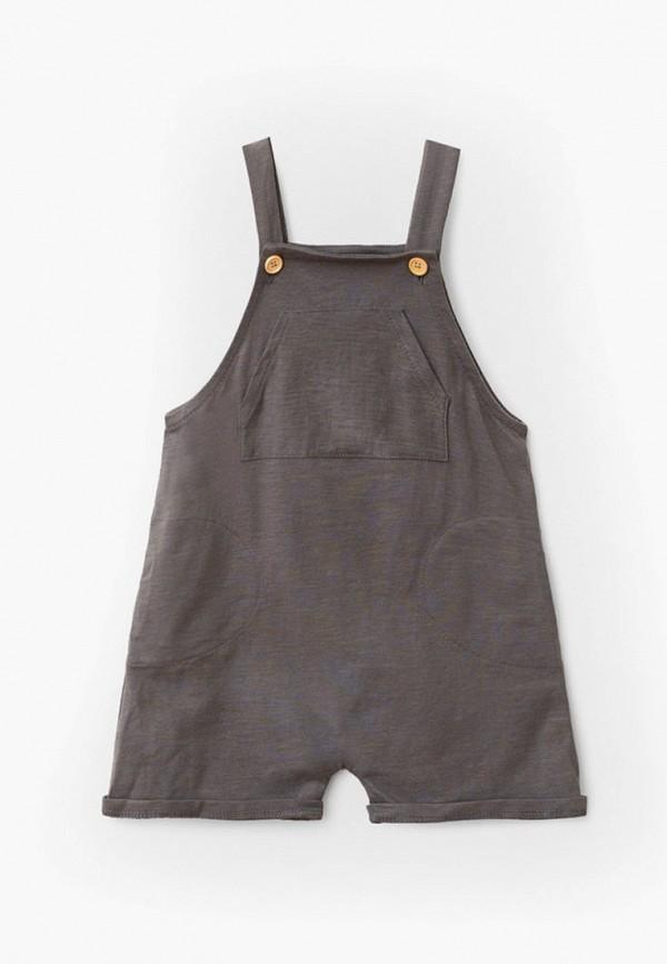 комбинезон с брюками mango kids для мальчика, серый