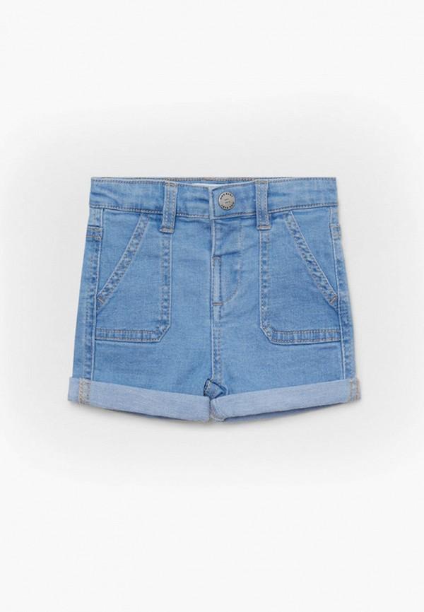 джинсовые шорты mango kids для мальчика, голубые