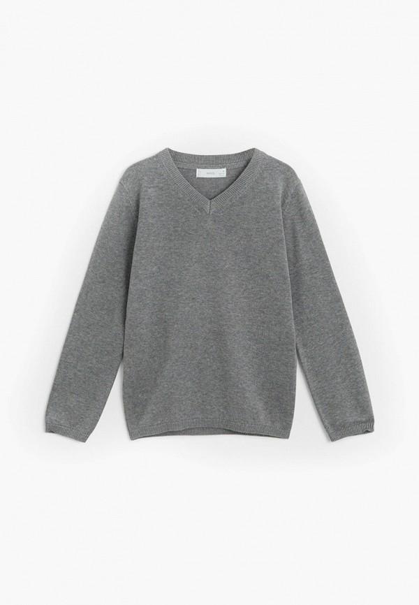 Пуловер Mango Kids Mango Kids 77094384 серый фото
