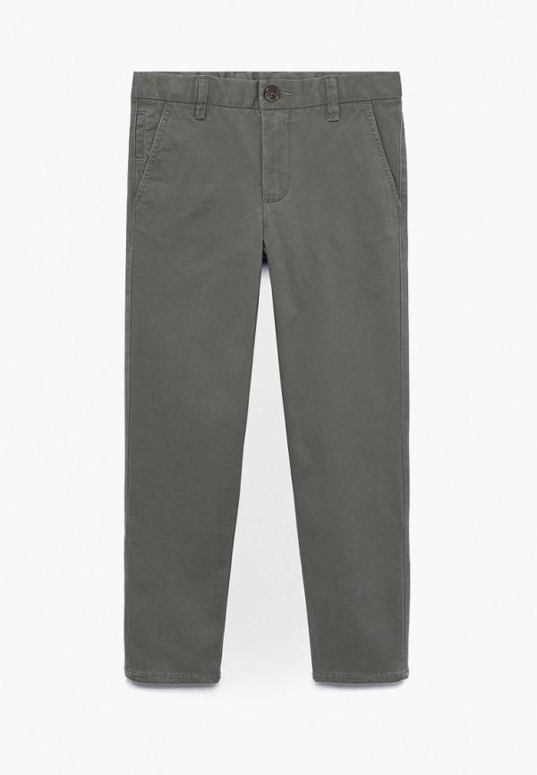 брюки mango kids для мальчика, серые