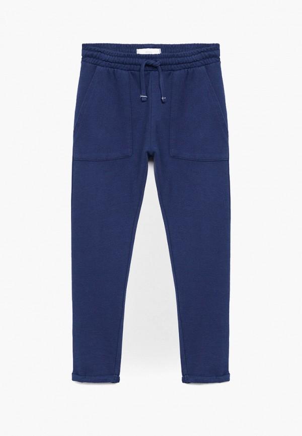брюки mango kids для мальчика, синие