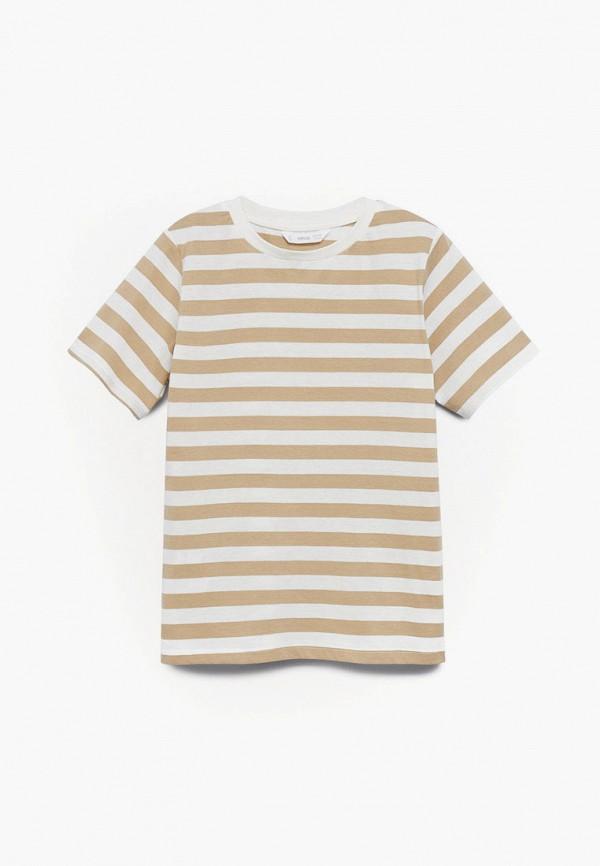 футболка с коротким рукавом mango kids для мальчика, разноцветная