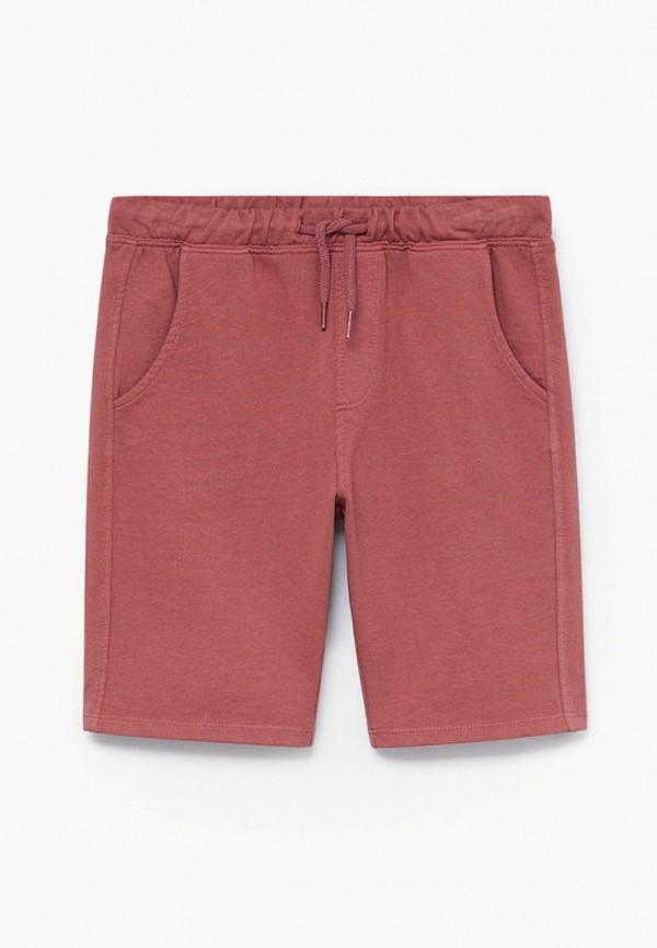 шорты mango kids для мальчика, розовые