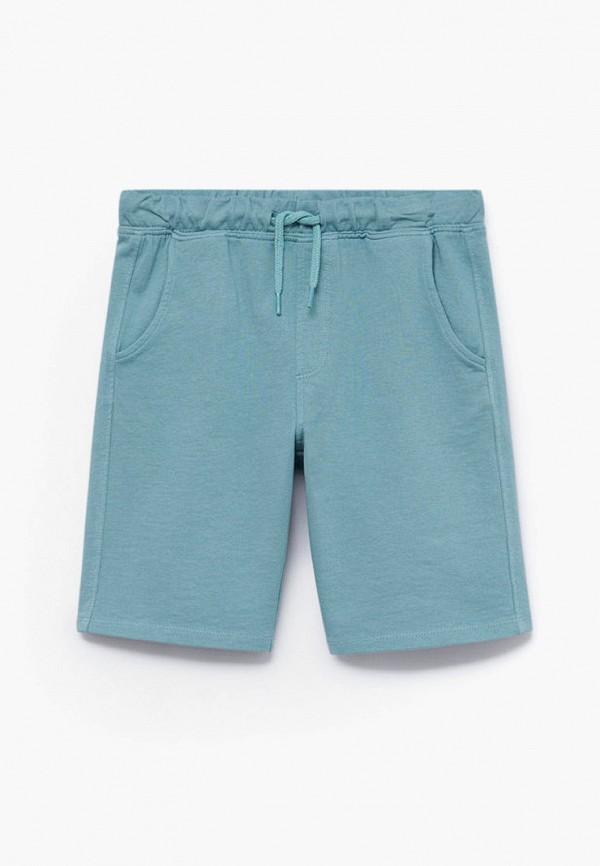 шорты mango kids для мальчика, голубые
