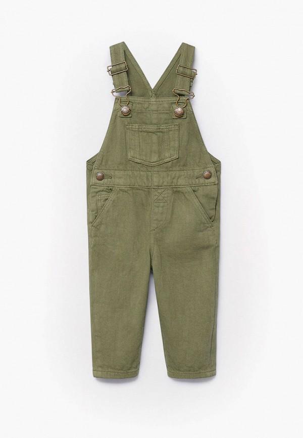 комбинезон с брюками mango kids для мальчика, хаки