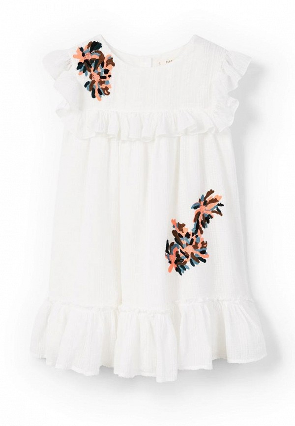 Платье Mango Kids Mango Kids MA018EGAQTO0 платье mango kids mango kids ma018egafgd6