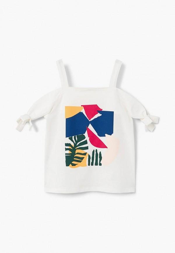 Футболка Mango Kids Mango Kids MA018EGBUDU7 футболка mango kids mango kids ma018ebcaqg5