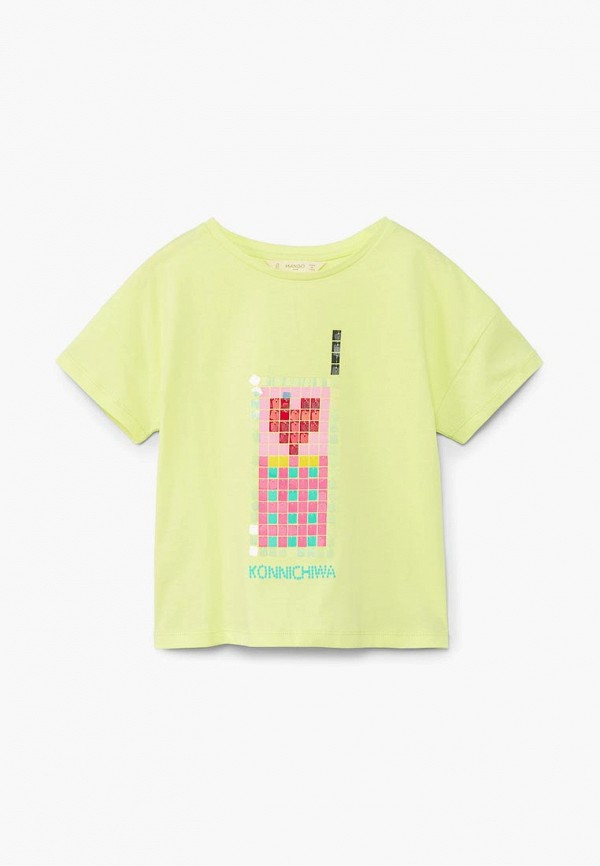 Футболка Mango Kids Mango Kids MA018EGBVKI7 футболка mango kids mango kids ma018egbybe1