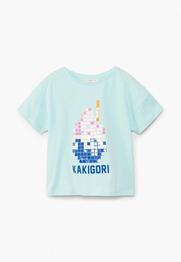 Футболка Mango Kids Mango Kids MA018EGBVKK4 футболка mango kids mango kids ma018egcbuj5