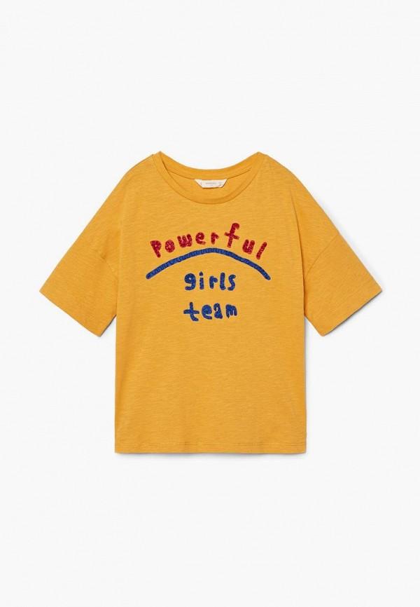 Футболка Mango Kids Mango Kids MA018EGCBUX0 футболка mango kids mango kids ma018ebcaqg5